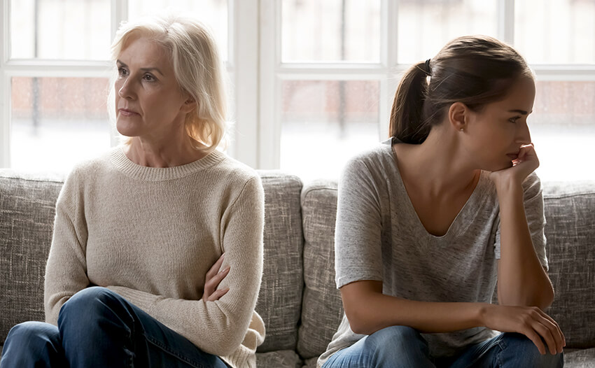 Inheritance rights of adult children from a previous marriage