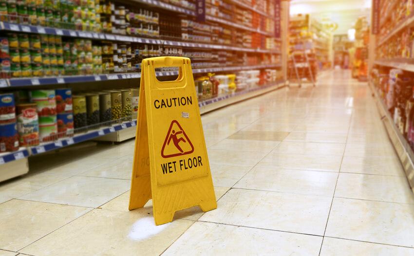Compensation for a Supermarket Slip